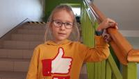 Sukces Emilki Masło z klasy II